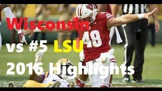 Download Wisconsin vs #5 LSU Highlights 2016 [HD] Video