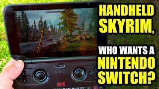 Download Handheld Skyrim! EASY… Who needs A Nintendo Switch? ;) - GPD WIN REVIEW Video