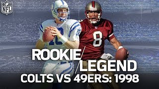 Download That Time Rookie Peyton Manning Dueled Steve Young in a Game Filled with Legends | NFL Vault Stories Video