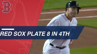 Download Red Sox score 8 in 4th inning en route to 15-7 win Video