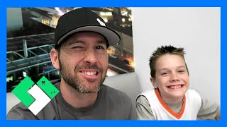 Download FATHER SON BRO DATE (BRYCE) (Day 1428) | Clintus.tv Video