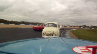 Download HD Race action from 'Bluebell' at the 2017 Donington Historic Festival Video