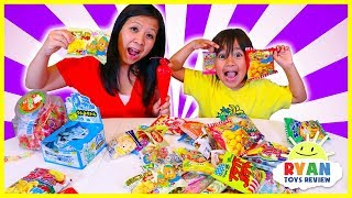 Download Japanese Snacks and Candy taste test with Ryan!!! Video