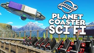 Download Planet Coaster Gameplay - Wooden Coaster Alien Attack! - Let's Play Planet Coaster Part 14 Video