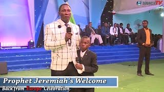 Download I Was Touched When I heard The Little Boy Sing | Prophet Jeremiah Video