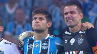 Download Homenagem à Chapecoense e Jornalistas - Couto Pereira, Arena do Grêmio - 07.12.16 Video
