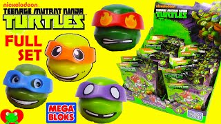 Download Teenage Mutant Ninja Turtles Mega Bloks Blind Bags Series 1 Full Set Buildable Video