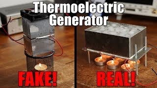 Download Exposing a FAKE Thermoelectric Generator and building a REAL one! Video