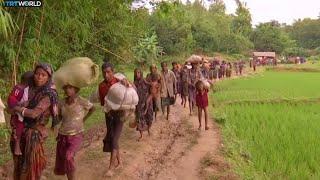 Download Myanmar Tensions: More than 27,000 Rohingya cross into Bangladesh Video