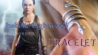 Download DIY Isabelle Lightwood Bracelet || SHADOWHUNTER || The Mortal Instruments Video