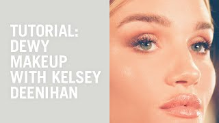 Download Dewy skin and bronze makeup with Kelsey Deenihan and Rosie Huntington-Whiteley Video