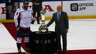 Download Ovechkin, Capitals accept Prince of Wales Trophy Video