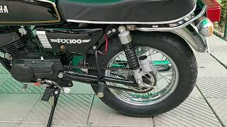 Download Yamaha RX100 (1990) |Fully Restored| The Best Look| 15 Inch Rims| Video