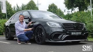Download The Brabus 800 S63 AMG is a Luxury Powerhouse! Video