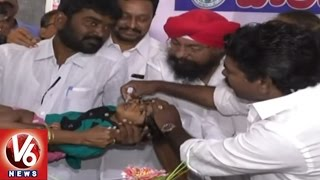 Download Pulse Polio Immunization Programme 2017 Launched Across State | V6 News Video