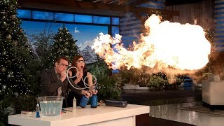 Download Steve Spangler's Science Experiments Took Ellie Kemper by Surprise Video