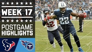 Download Texans vs. Titans | NFL Week 17 Game Highlights Video