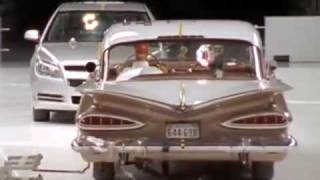 Download 2009 Chevy Malibu vs 1959 Bel Air Crash Test | Consumer Reports Video