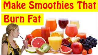 Download Learn How To Make Smoothies For Weight Loss At Home! Video