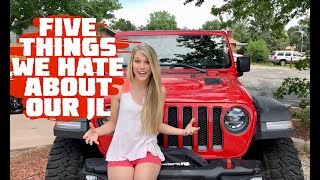 Download Five Things We HATE About Our 2018 Jeep Wrangler JLU Rubicon Video