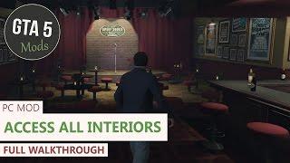 Download GTA 5 PC - Open all interiors Mod [Full Showcase/Walkthrough] Video