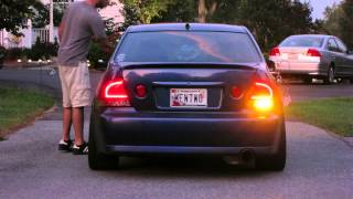 Download IS300 JDM Power Folding Mirrors, LED Tail Lights and TapTurn Signals, Engine Start Video