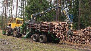 Download LKT 75 a traktorová vyvážečka FARMA Video