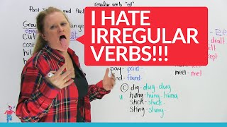 Download Irregular Verbs in English – Groups 1 & 2 Video