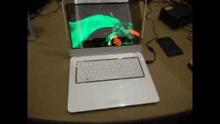 Download 14 inch Transparent OLED Display Notebook from Samsung Display Video
