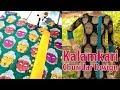 Download Kalamkari Churidar Design Latest Kalamkari Chudidar Top Neck Design Cutting and Stitching Video