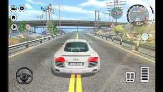 Download Drift Simulator Audi R8 Sports / Car Racing Games / Android Gameplay FHD Video