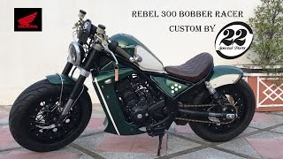 Download Honda Rebel300 Motorbike Idea Challenge - 22 SP Video