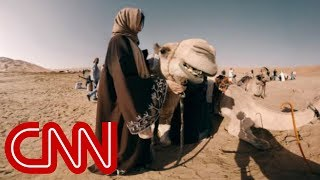 Download Ride a camel through the world's largest sand desert - 360 Video Video