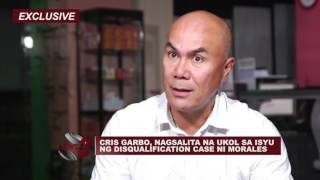 Download CRIS GARBO, NAGSALITA NA UKOL SA ISYU NG DISQUALIFICATION CASE NI MORALES Video