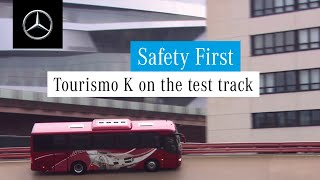 Download Mercedes-Benz Buses | Tourismo K on the test track Video