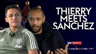 Download ″I joined Man Utd to win everything!″ | Thierry Henry meets Alexis Sanchez Video