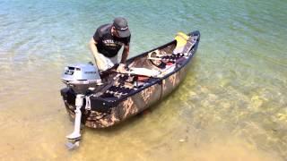 Download Canoé esquif mallard et moteur bf 2.3 honda marine Video