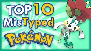 Download Top 10 Mistyped Pokemon Video