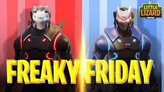 Download FREAKY FRIDAY - CARBIDE AND OMEGA SWAP BODIES- FORTNITE SHORT FILMS Video