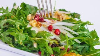 Download Katie Lee's Arugula Salad Video