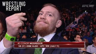 Download Conor McGregor Will Consider WWE Offer, Goldberg Talks Lesnar Win | Wrestling Report Video