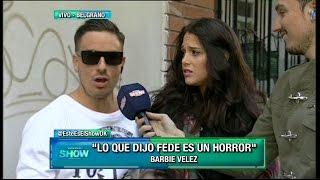 Download Mirá cómo reaccionó Barbie Vélez al enterarse que Fede Bal reveló sus detalles más íntimos Video