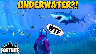 Download UNDERWATER on FORTNITE? - Fortnite Funny Fails and WTF Moments! #134 (Daily Moments) Video