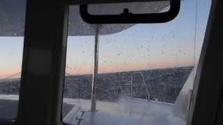 Download Leopard 44 in 40 knots. Video