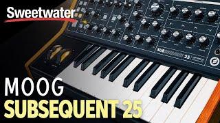 Download Moog Subsequent 25 Analog Synthesizer Demo by Daniel Fisher Video