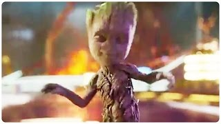 Download Guardians of the Galaxy 2 Dancing Baby Groot Trailer (2017) Chris Pratt Action Movie HD Video
