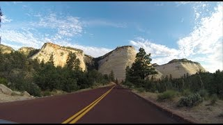 Download Highway 9 through Zion National Park Utah, the best scenic road in the USA Video
