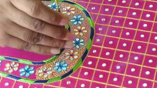 Download making of latest maggam work blouse design 2016-17 Video