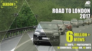 Download INDIA To LONDON By ROAD : 16000 km I 13 cars I 27 Participants I 18 Countries I Road Trip Video