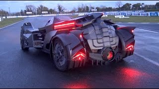 Download The NEW Team Galag Batmobile | Gumball 3000 2016 Video